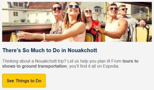 Expedia Nouakchott Things to Do