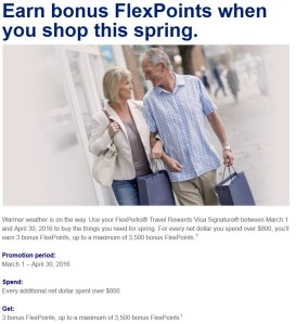 US Bank FlexPoints Spring 2016 Offer