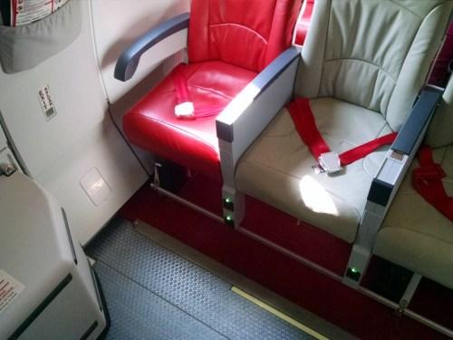 AirAsia X A330 Row 15