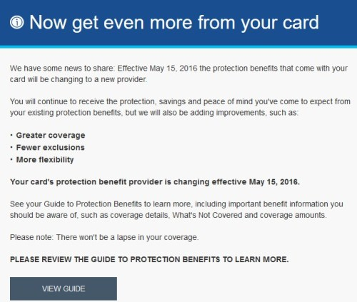 Citi Protection Benefits Guides 2016