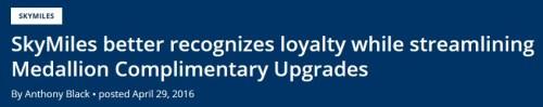 Delta Upgrade Priority