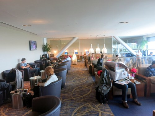 Singapore Airlines Brisbane Lounge 01