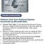 The Other Great Amex Platinum Offer is the 75k Mercedes-Benz Platinum, You Can Have Both