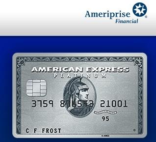 Amex Platinum Ameriprise