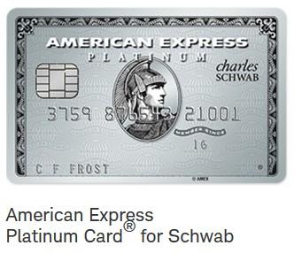 Amex Platinum Charles Schwab
