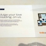 Amex Centurion Lounge Giving Away 6 Months of Amazon Kindle Unlimited