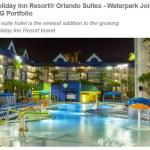 Disney Family Alert: New All-Suites IHG Holiday Inn Waterpark 25k/Night
