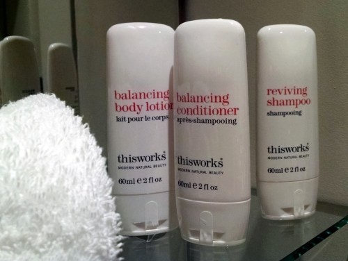 Club Carlson Maxi-Sized Bath Amenities