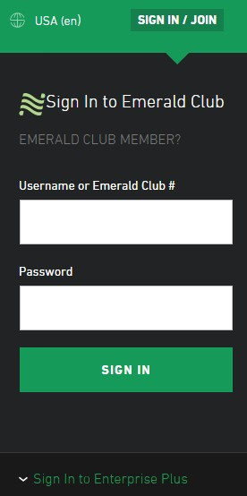 Enterprise National Sign-in