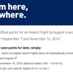 Take Note: JetBlue 25% Off Awards is a Recurring Sale