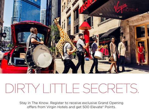 Virgin Hotels 500 Points