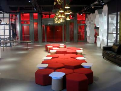 Radisson Red Brussels Lobby