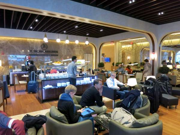 Turkish Airlines Lounge IAD