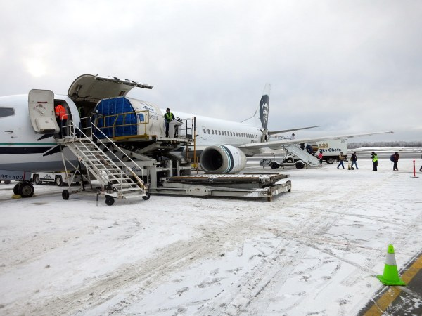 Alaska Airlines 737 Combi