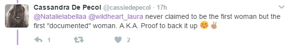 Cassie DePecol Never Claimed