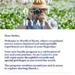 I Just Got a Long World of Hyatt email that Seems to Say I Won't Get Free Breakfast