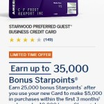 Last Chance to Use My Wife's Amex SPG Biz 35k Refer-a-Friend Link