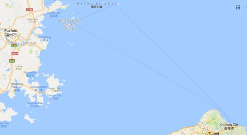 Matsu Islands Map
