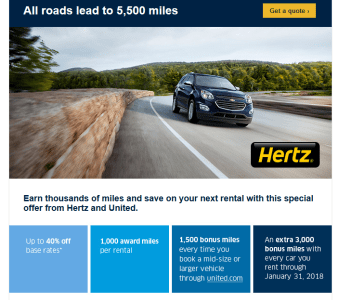 United Hertz Targeted January 2018