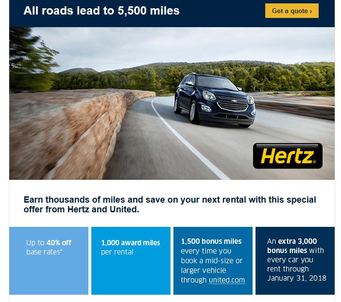 United Hertz Targeted January 2018