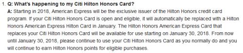 Citi Hilton Conversion