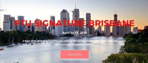 FTU Brisbane April 2018