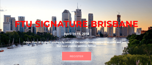 FTU Brisbane April 2018