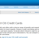 Citi Credit Card Product Change Rules and Options