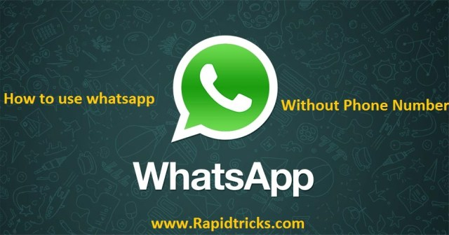 WhatsApp without number