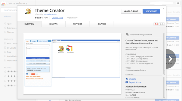 How To Create Your Own Google Chrome Theme Easily