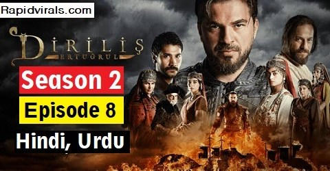 Ertugrul Ghazi season 2 Episode 8 in Urdu