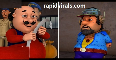 Dr Jhatka ka Mind Printer Motu Patlu in Hindi