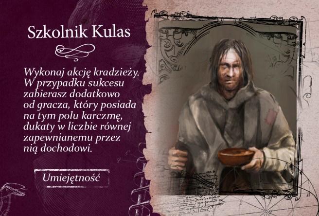 """Kacper Ryx i Król Żebraków"", Awers - karta kompanów"