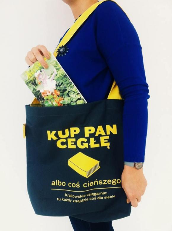 Czytaj Lokalnie - torba Kup Pan Cegłę