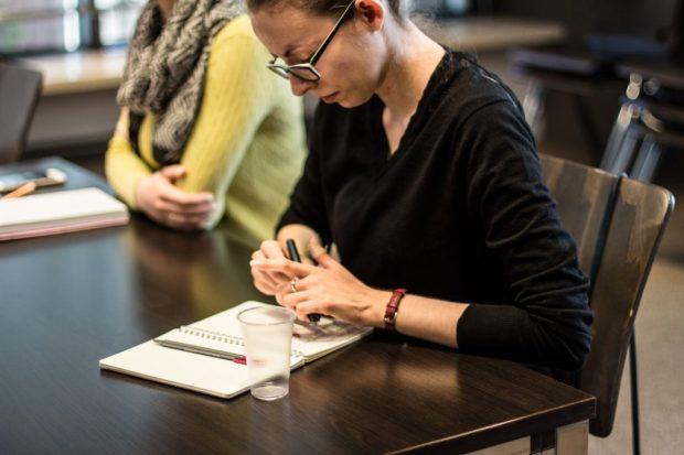 Warsztaty pisania felietonu z Sylwią Chutnik, fot. Inga Szeliga