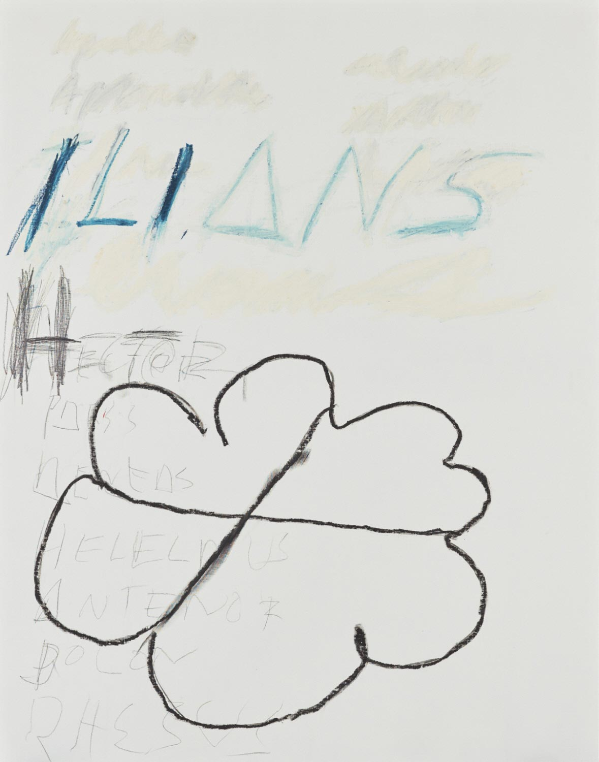 Cy Twombly, Fifty Days at Iliam: Heroes of the Ilians