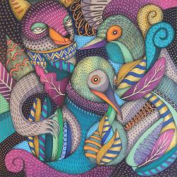 Featured Artist: Rodrigo Oñate, Flora y Fauna #6