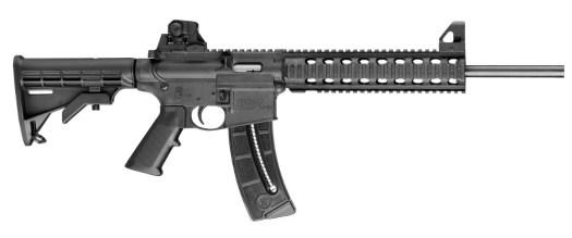Smith & Wesson M&P 15, modèle d'arme utilisée par Paul Ciancia lors de la fusillade à l'aéroport international de Los Angeles le 1er novembre 2013