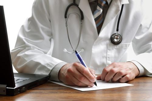 Doctor-writing