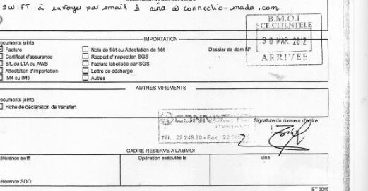 RANARISON Tsilavo qui a signé TOUS les virements bancaires accuse Solo, son patron et associé, d'abus de biens sociaux et de faux en écriture de commerce