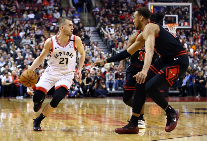 Toronto Raptors: The case for giving Matt Thomas playoff minutes