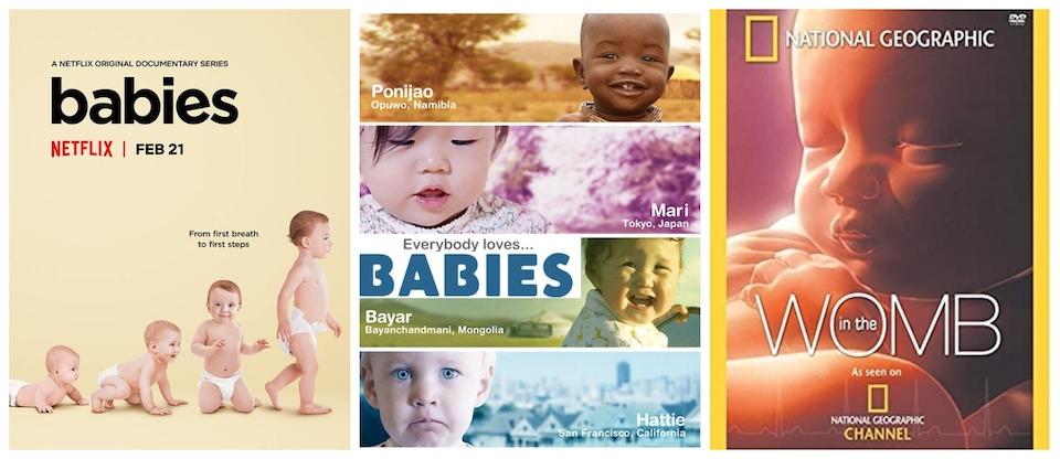 3 documentales de bebés