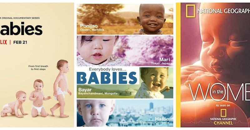 3 documentales de bebés que pueden interesarte