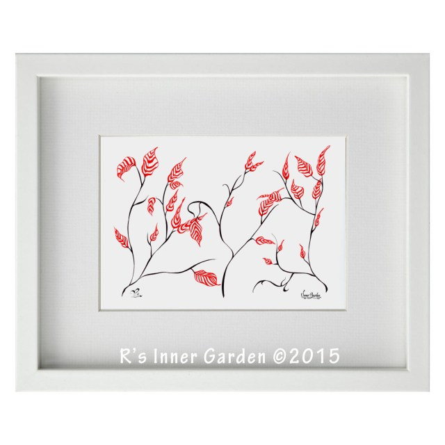 Flowing Branches 1 Giclee Print