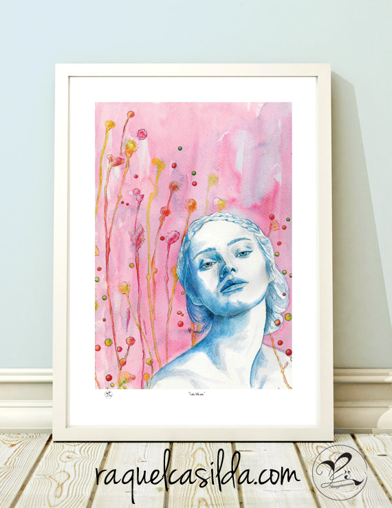'I am, We are' Giclee Print