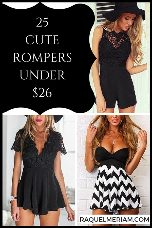 25 Rompers for under $26