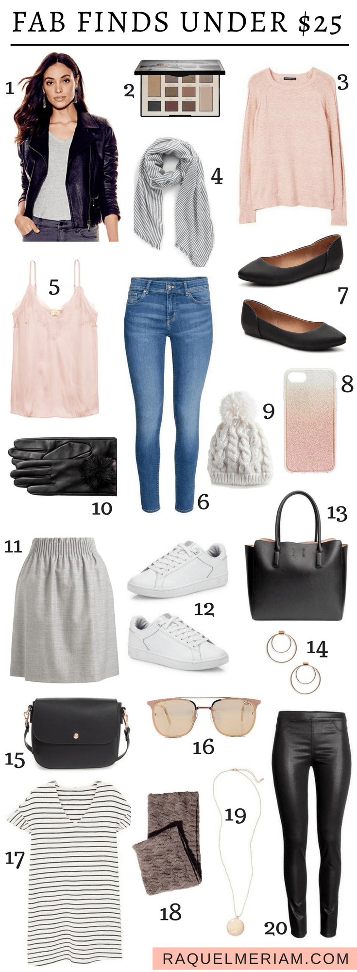 Fab Finds Under $25 - The best deals for this time of year. #winter #outfits #fashion #sales #deals