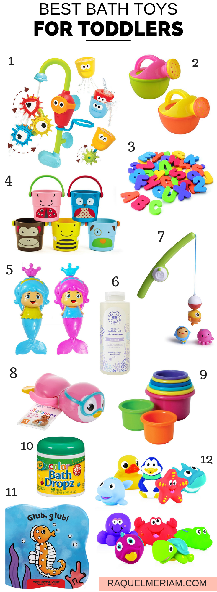 Here is a list of the Best Bath Toys for Toddlers and Kids that are affordable.