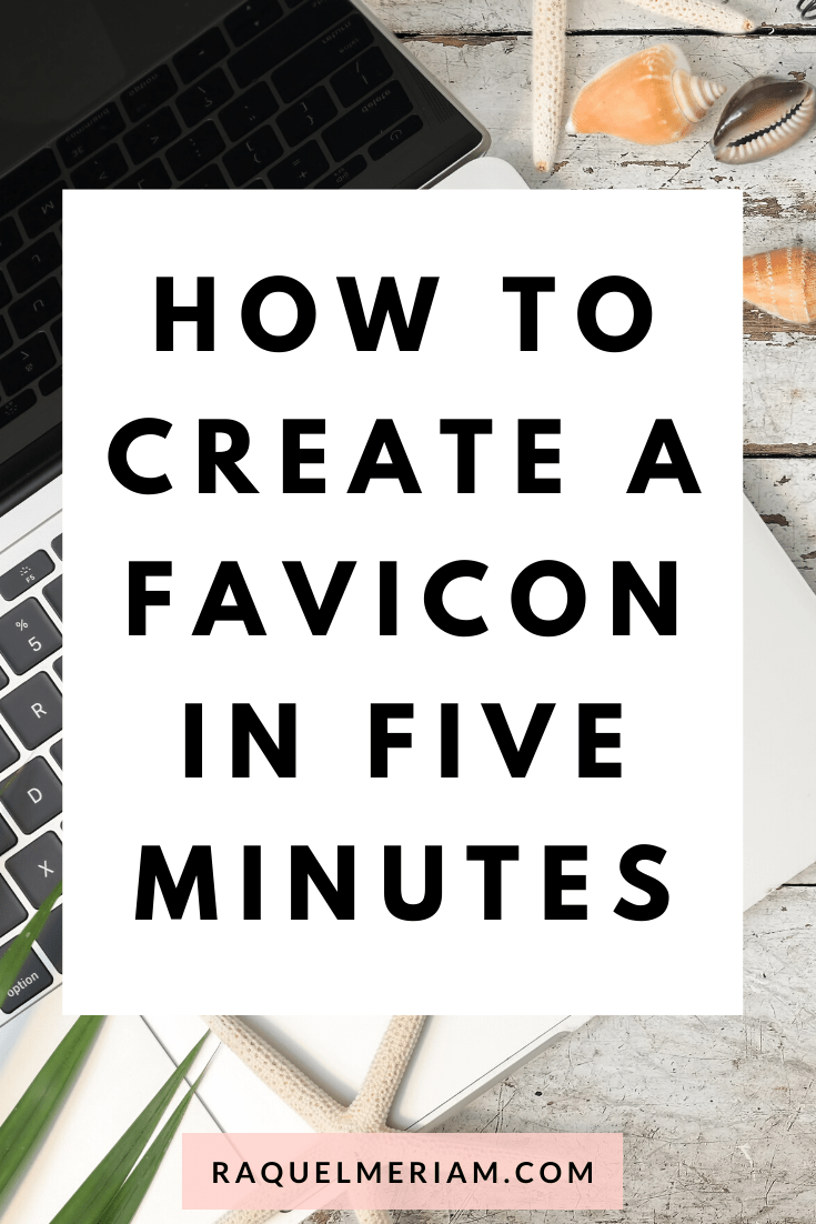 How to create a favicon in five minutes