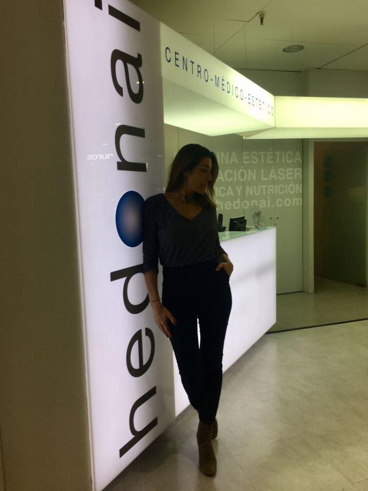 En Hedonai me siento como en casa. Me encanta ponerme en sus manos. Los resultados son maravillosos y la profesionalidad absoluta.